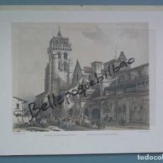 Postales: FOTOTIPIA GRABADO BURGOS MONASTERI ODE LAS HUELGAS EDICION FRANCESA PERFECTA CONSERVAC. Lote 295517878