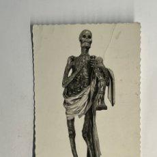 Postales: VALLADOLID. POSTAL NO.74, MUSEO N. ESCULTURA. LA MUERTE. EDIC. GARCIA GARRABELLA (H.1950?). Lote 295761078