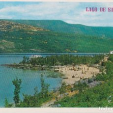 Postales: LAGO DE SANABRIA (ZAMORA) PLAYA Y LAGO - EDICIONES PARIS Nº208 - S/C. Lote 296609563
