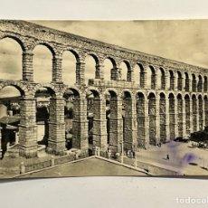 Postales: SEGOVIA. POSTAL NO.31, EL ACUEDUCTO. HELIOTOPIA ARTISTICA ESPAÑOLA (H.1950?) S/C. Lote 296777948
