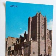Postales: POSTAL - AVILA - CATEDRAL FACHAD 641 - S/C. Lote 297031783