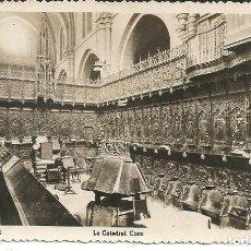 Postales: POSTAL ZAMORA - LA CATEDRAL,CORO - ARRIBAS - CIRCULADA 1951. Lote 297039678