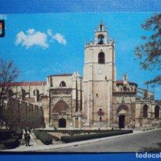 Postales: POSTAL - PALENCIA -. 9.- CATEDRAL - ESCUDO DE ORO - AÑO 1980 - ESCRITA. Lote 297085013