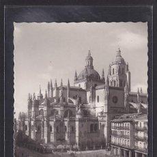 Postales: 74. - SEGOVIA: CATEDRAL Y PLAZA DEL GENERAL FRANCO (CASTILLA Y LEÓN, ESPAÑA). Lote 297087658
