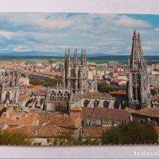 Postales: POSTAL - BURGOS - CATEDRAL DESDE EL MIRADOR -S/C. Lote 297156048
