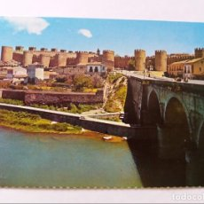 Postales: POSTAL - AVILA - RIO ADAJA Y MURALLAS - S/C. Lote 297164863