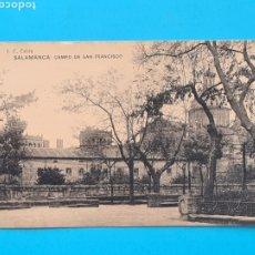 Postales: TARJETA POSTAL SALAMANCA - CAMPO DE SAN FRANCISCO - HAUSER Y MENET J. C. COLON - SIN CIRCULAR. Lote 297185083
