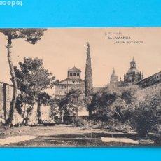 Postales: TARJETA POSTAL SALAMANCA - JARDIN BOTANICO - HAUSER Y MENET J. C. COLON - SIN CIRCULAR. Lote 297185218