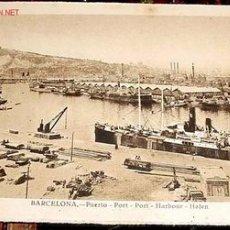 Postales: ANTIGUA POSTAL DE BARCELONA - PUERTO - FOTO ROISIN . NO CIRCULADA. Lote 772015