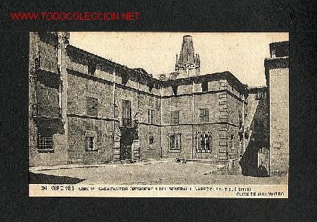 POSTAL DE GIRONA: CASA PASTOR (ASSOC.PROTECT.ENSENYANÇA CATALANA, NUM. 34) (Postales - España - Cataluña Antigua (hasta 1939))