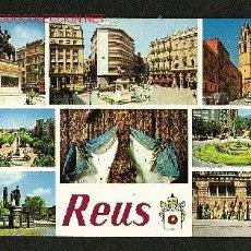 Postales: POSTAL DE REUS (TARRAGONA): 8 VISTES (ED.RAYMOND NUM. 12). Lote 816372