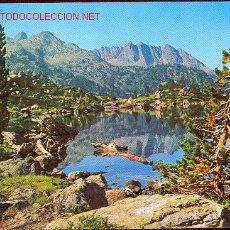 Postales: AIGÜES TORTES - PIRINEU LLEIDATÀ (CIRCULADA 1982). Lote 26496123