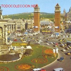 Postales: BARCELONA - PLAZA ESPAÑA. Lote 18426802