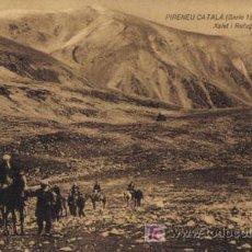 Postales: TARJETA POSTAL DE PIRENEU CATALÁ. (SERIE 1). Nº2. ULL DE TER XALET I REFUGI (2325 M. ).. Lote 5405787