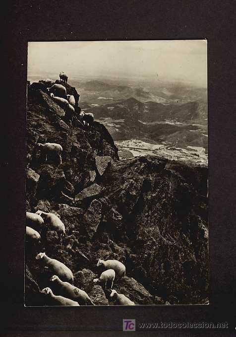 POSTAL DE MAÇANET DE CABRENYS (GIRONA): PANORAMICA DEL ROC DE FRAUSA (CL.VIÑALONGA) (Postales - España - Cataluña Antigua (hasta 1939))