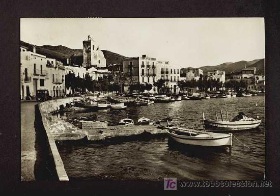 POSTAL DE PORT DE LA SELVA (GIRONA): DETALL (ZERKOWITZ NUM.10376) (Postales - España - Cataluña Antigua (hasta 1939))