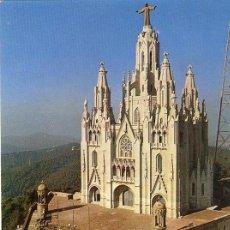 Postales: A1268 CATALUÑA BARCELONA SAGRADO CORAZON TIBIDABO. Lote 3405430