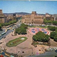Postales: A1274 CATALUÑA BARCELONA PLAZA DE CATALUÑA, . Lote 3405536