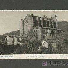 Postales: POSTAL DE SANT JOAN LES FONTS (GIRONA): ESGLÉSIA PARROQUIAL (FM A ORQUIDEA NUM.6). Lote 3806388