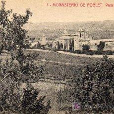 Postales: MONASTERIO POBLET. Lote 4116635