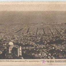 Postales: POSTAL BARCELONA VISTA PANORAMICA. Lote 21526590