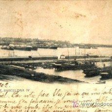 Postales: BARCELONA : PANORAMA DE BARCELONA IV. Lote 19182748