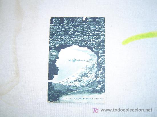 POSTAL BLANES. (Postales - España - Cataluña Antigua (hasta 1939))