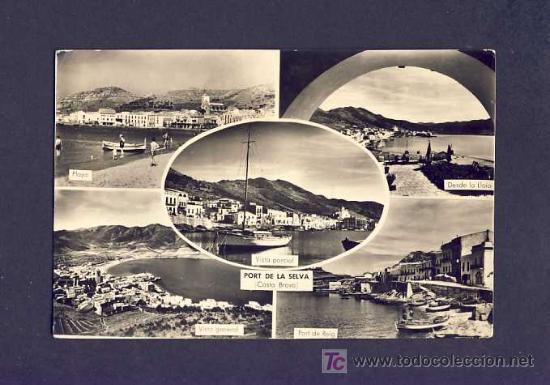 POSTAL DEL PORT DE LA SELVA: 5 VISTES (FOTOS MELI) (Postales - España - Cataluña Antigua (hasta 1939))