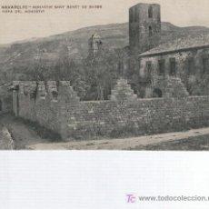 Postales: NAVARCLES. MONESTIR DE SANT BENET DE BAGES. PRIN S. XX.. Lote 4667191