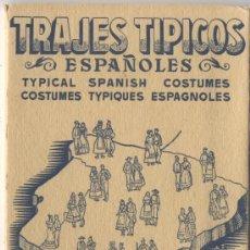 Postales: TRAJES TIPICOS DE ESPAÑOLES SERIE E DEL Nº 41 AL 50 . Lote 4743514