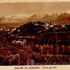 Postales: BELLVER DE CERDANYA. VISTA PARCIAL.. Lote 4777859