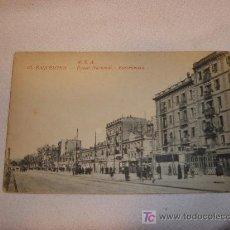 Postales: BARCELONA PASEO NACIONAL BARCELONETA. Lote 8503998