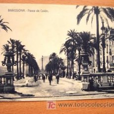 Postales: BARCELONA - PASEO DE COLÓN - SIN CIRCULAR. Lote 22621749