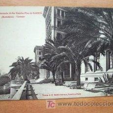 Postales: INTERNADO DE LAS ESCUELAS PÍAS DE SARRIÁ (BARCELONA) - TERRAZA . Lote 27478475