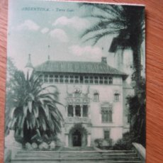 Postales: ARGENTONA. TORRE GARÍ. Lote 21786112