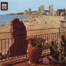 Postales: PLAYA DE ARO COSTA BRAVA. POSTAL CIRCULADA-VER FOTO ADICIONAL.. Lote 25008550