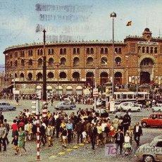 Postales: POSTAL CIRCULADA DE BARCELONA. PLAZA DE TOROS.LAS ARENAS.. Lote 24635699