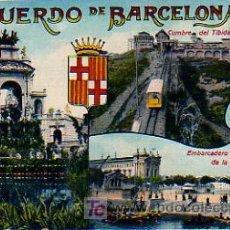 Postales: RECUERDO DE BARCELONA. (J.VENINI). Lote 16754487