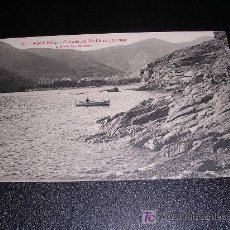 Postales: 10 PORT-BOU, ENTRADA DE PORT-BOU POR MAR, L.ROISIN. Lote 7927407