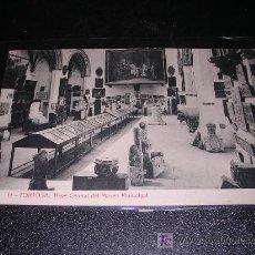 Postales: 11 TORTOSA, NAVE CENTRAL DEL MUSEO MUNICIPAL. Lote 5270502