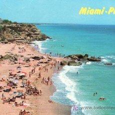 Postales: MIAMI PLAYA-COSTA DORADA.TARRAGONA.POSTAL CIRCULADA.. Lote 5299387