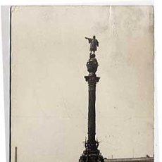 Postales: BARCELONA. MONUMENTO A COLON. B. Y P. CIRCULADA. Lote 5958237