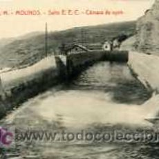 Postales: POSTAL DE MOLINOS, CAMARA DE AGUA. Lote 5460695