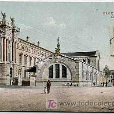 Postales: BARCELONA. ADUANA. DR. TRENKLER CO. CIRCULADA. Lote 5753044