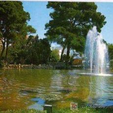 Postales: POSTAL - VILANOVA I LA GELTRU - VILLANUEVA Y GELTRÚ - PARQUE MUNICIPAL. Lote 5837434