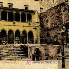 Postales: MONTSERRAT (BARCELONA). CLAUSTRO GÓTICO. PURGER & CO. . Lote 5894890