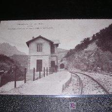 Postales: APEADERO DE LA PUDA DE LA COMPAÑIA GENERAL DE FERROCARRILES CATALANES. Lote 5928029
