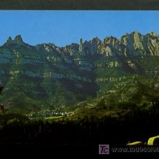 Postales: MONISTROL DE MONTSERRAT . BAGES. ED. FOTOCOLOR VERT Nº 1. NUEVA.. Lote 5994895