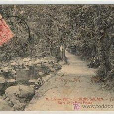 Postales: (PS-2351)POSTAL DE SANT HILARI SACALM-RIERA DE LA FONT PICANT. Lote 6004075