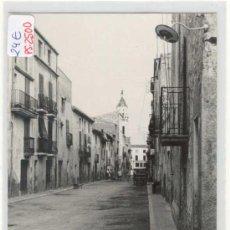 Postales: (PS-2500)POSTAL DE LA MASO(TARRAGONA)-CALLE SEBASTIAN BANUS. Lote 6033477